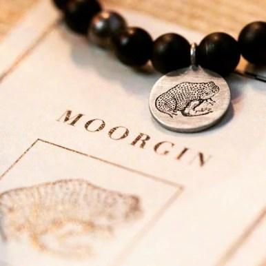 MOORGIN - Gin aus Kolbermoor Label