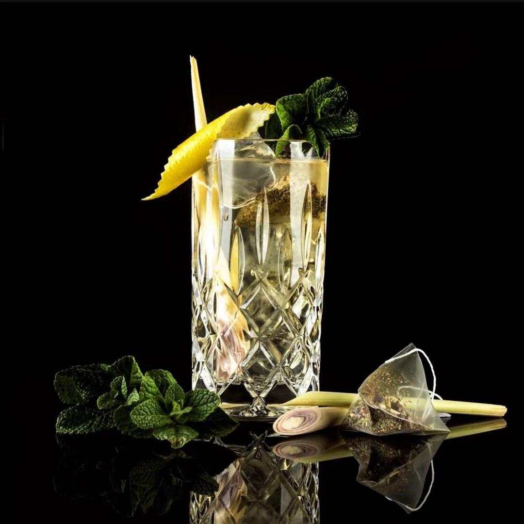 MOORDESTILLERIE Kolbermoor Barcatering Cocktail Alpin MOORGIN Tonic