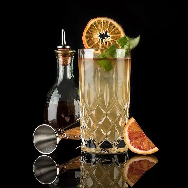 MOORDESTILLERIE Kolbermoor Barcatering Cocktail MOOR & STORMY