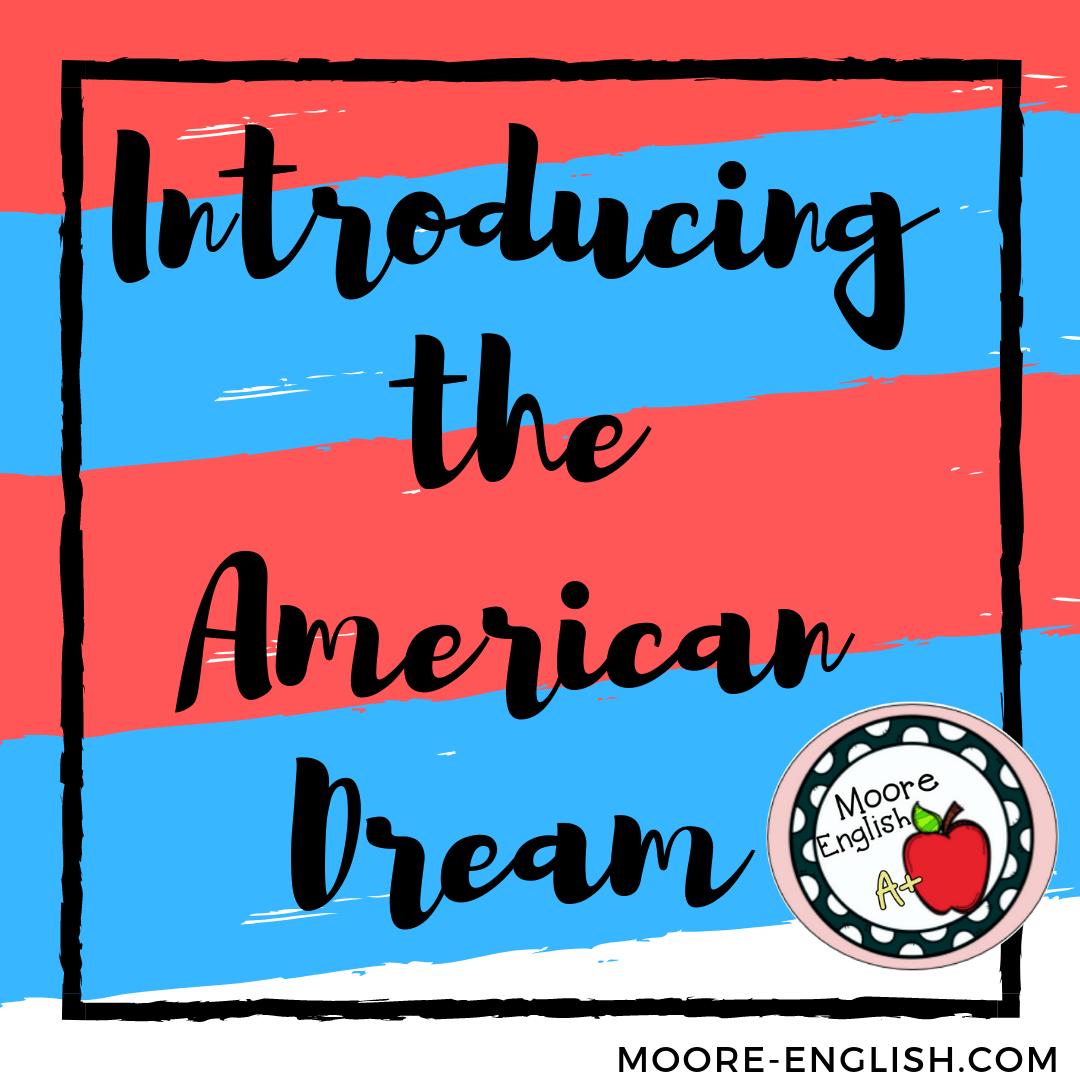 the american dream in 20th century literature
