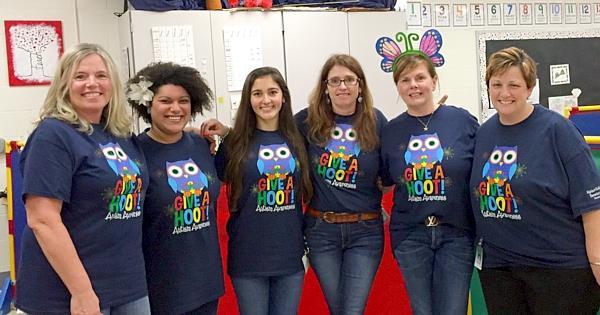 Local School Participates In Autism Awareness Month & Donates To The Moore Center