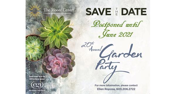 Annual Garden Party Update