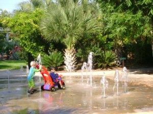 The fountains at Chrispark