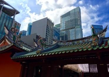 Big city, little temple