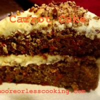 Carrot Cake & Video