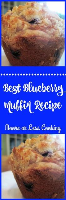 Best Blueberry Muffin