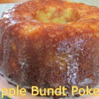 PINEAPPLE BUNDT POKE CAKE & VIDEO