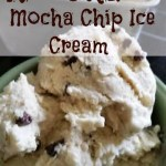 No-Churn Mocha Chip Ice Cream