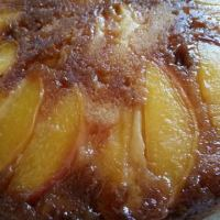 Upside-Down Peach Cake & VIDEO