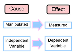 Independent vs Dependent Variables 1