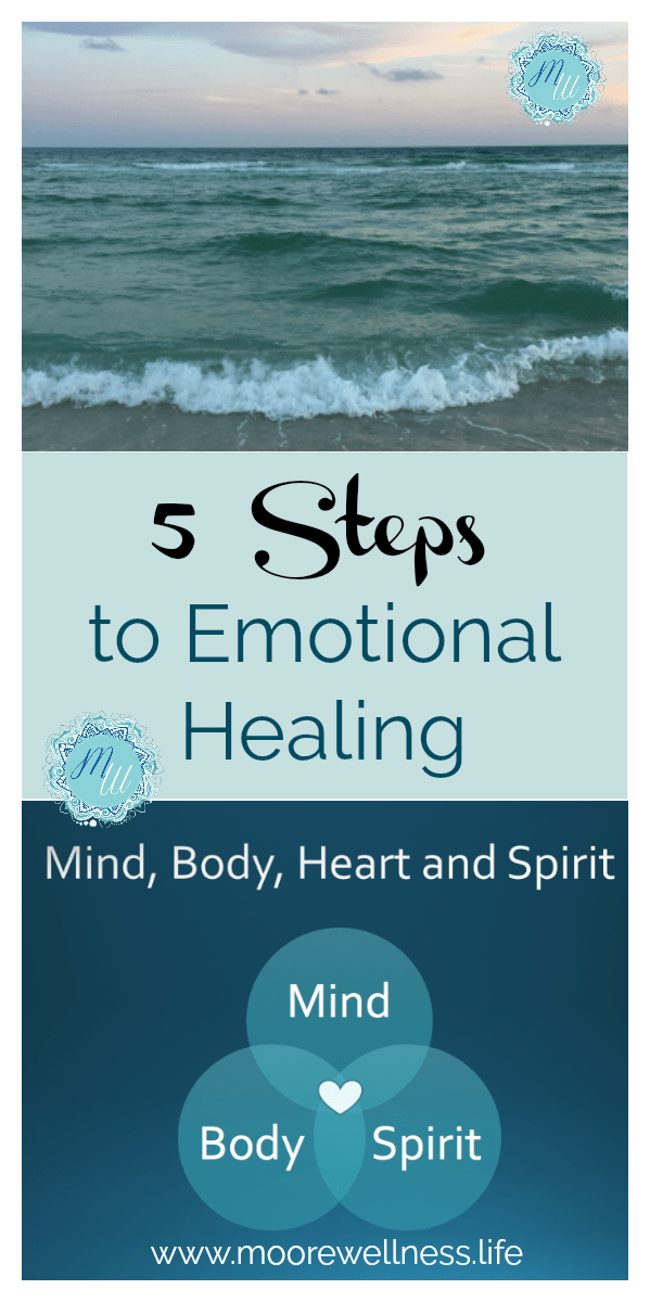 5 steps emotional healing in mind, body, and spirit
