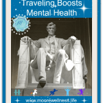 Mental health & Lincoln Memorial in Washington, D.C.