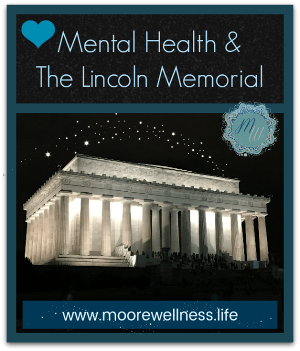 Improve mental health traveling Lincoln Memorial Washington, D.C.