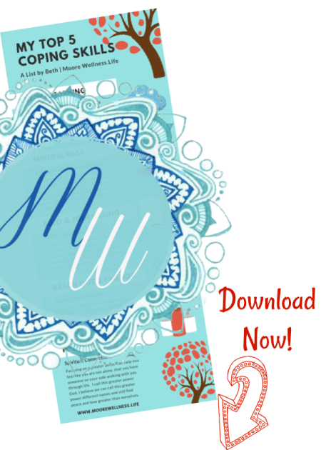 coping skills free printable