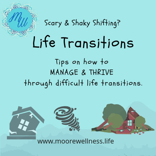 Difficult Life Transitions & Transformations: How to Manage & Thrive
