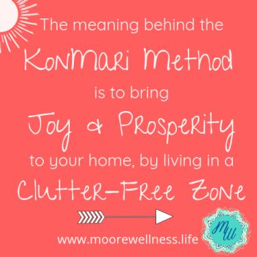 The real meaning behind KonMari method...