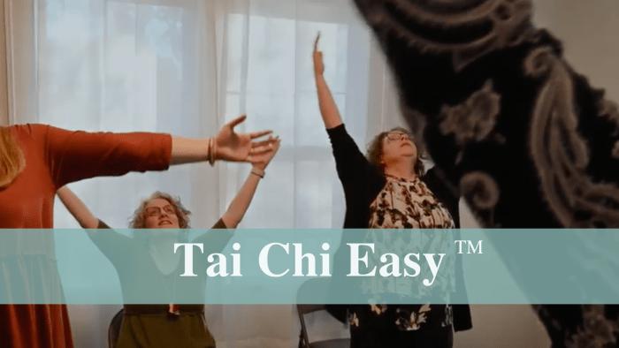 Tai Chi Easy session