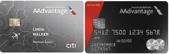Barclaycard AAdvantage Aviator Cards
