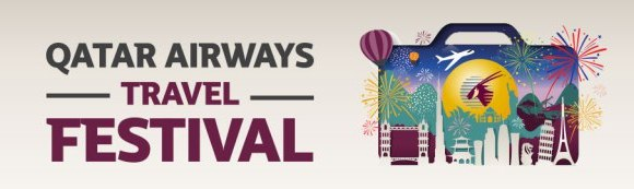 Qatar Airways Travel Festival Fares January 2017