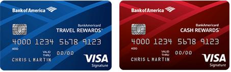 BankAmericard Travel Rewards vs. Cash Rewards