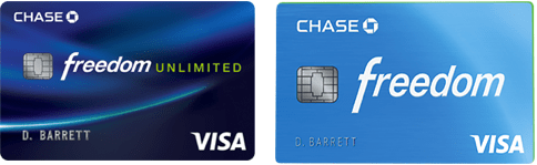 Chase Freedom Unlimited vs. Chase Freedom