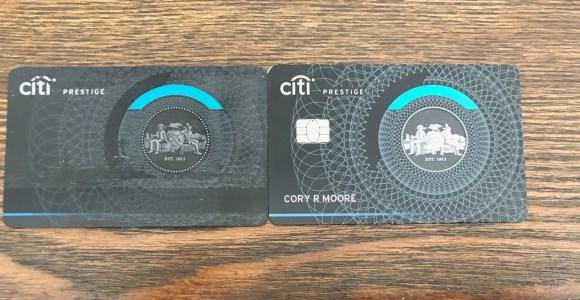 Goodbye Citi Prestige Card – A Tribute