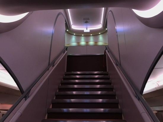 Singapore Airlines A380 Grand Staircase