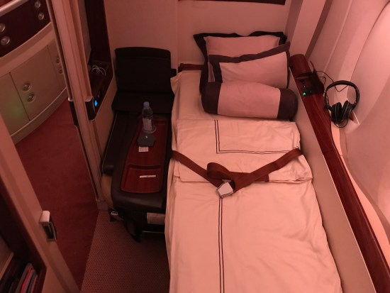 Singapore Airlines Suites Bed