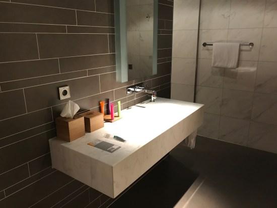 Lufthansa First Class Bathroom Sink