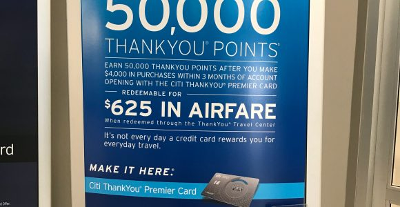 New: Citi ThankYou Premier 50,000 Point Sign-Up Offer