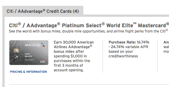 Why I Avoided The 60,000 Mile AAdvantage Credit Cards