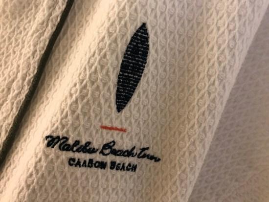 Malibu Beach Inn Bath Robe
