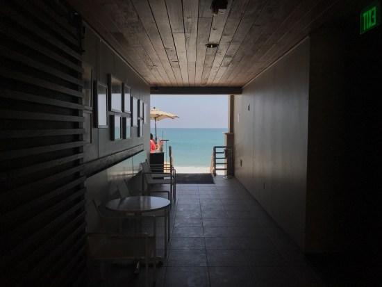 Malibu Beach Inn Guest Hallway