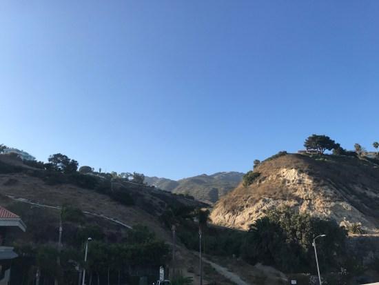 Malibu Hills From The Hotel Hallway