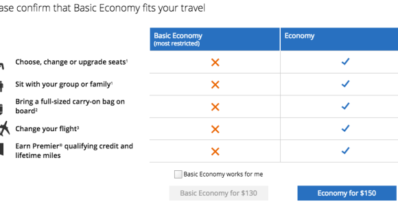 Everything You Need To Know About United Airlines Basic Economy