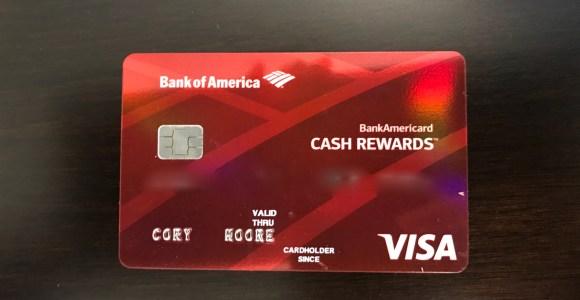 Bank of America BankAmericard Cash Rewards Benefits Overview