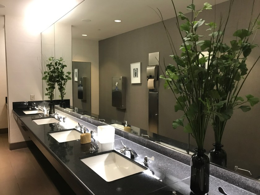 Denver International Airport Lounge Restroom