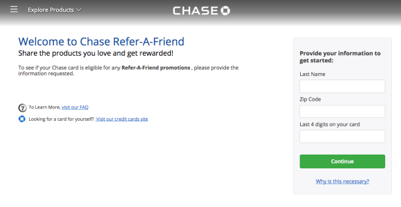 Refer Friends To Chase Cards Via The Mobile App