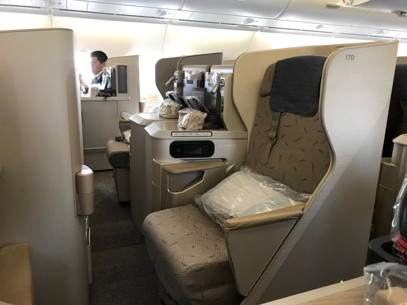 Asiana Airlines A380 Smatium Business Class Aisle Seats