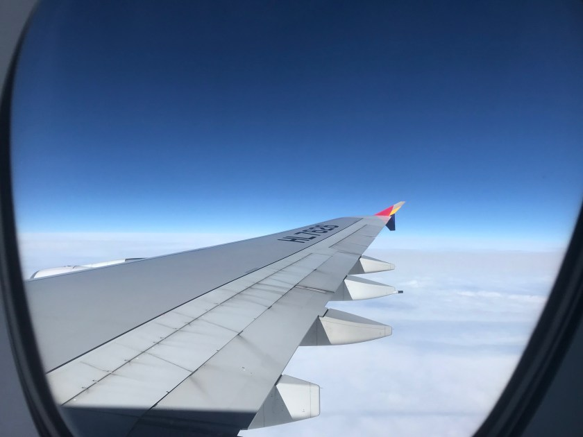 Asiana Airlines A380 Lavatory Views