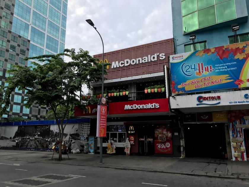 Ho Chi Minh McDonalds
