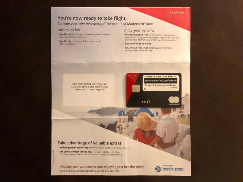 AAdvantage Aviator Red Card