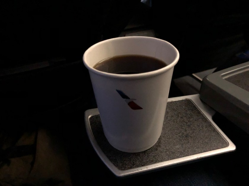American Airlines Paper Coffee Cup