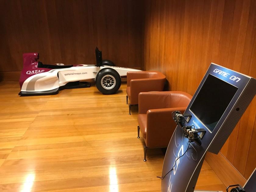 Al Mourjan Business Class Lounge Game Room Race Car