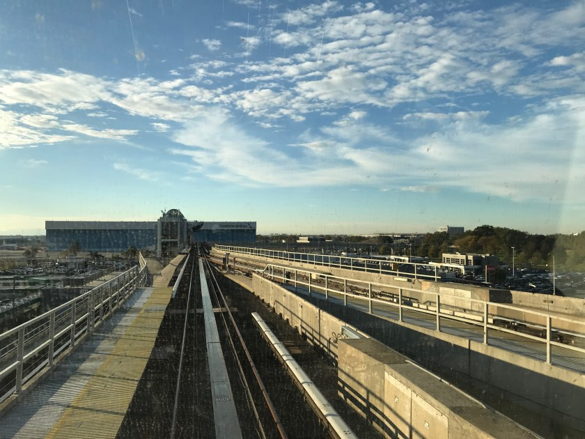 JFK AirTrain View