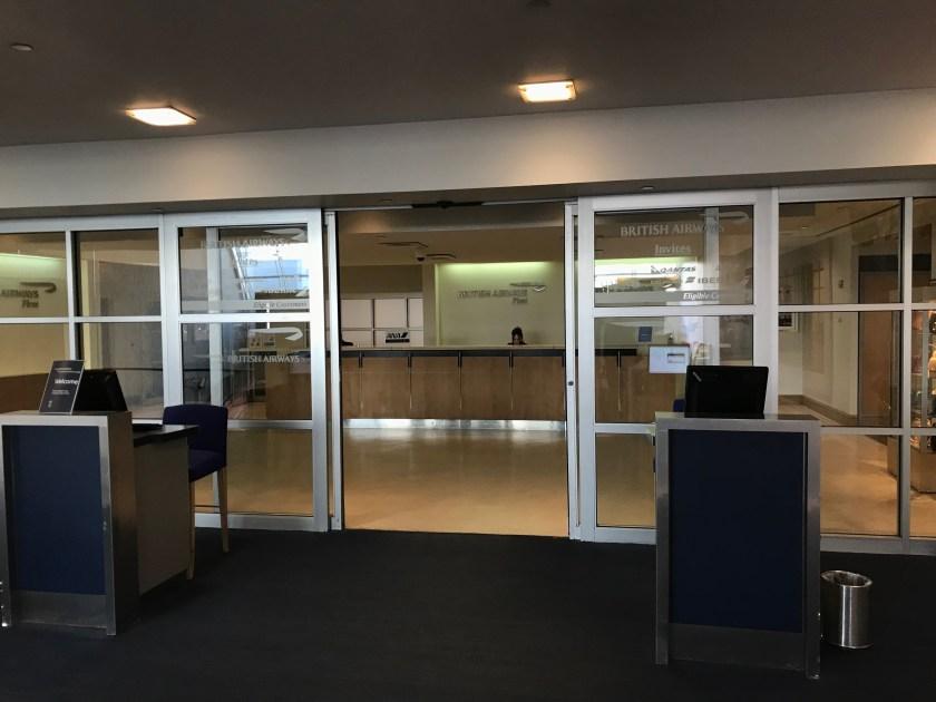 British Airways Galleries Lounge Entrance