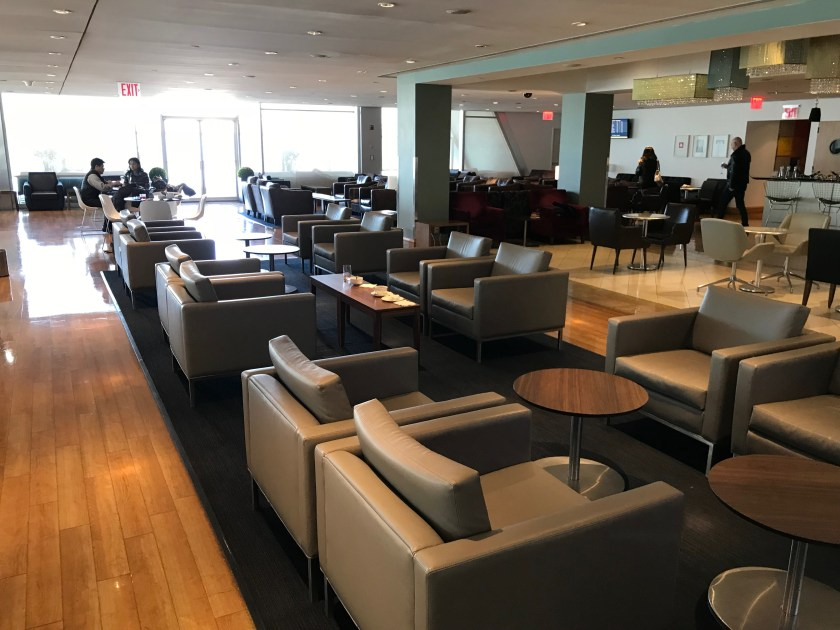 British Airways Galleries Bar and Sitting Area New York JFK 2