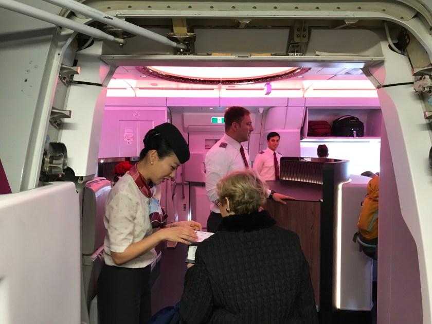 Qatar Airways Airbus A350 L2 Boarding Door