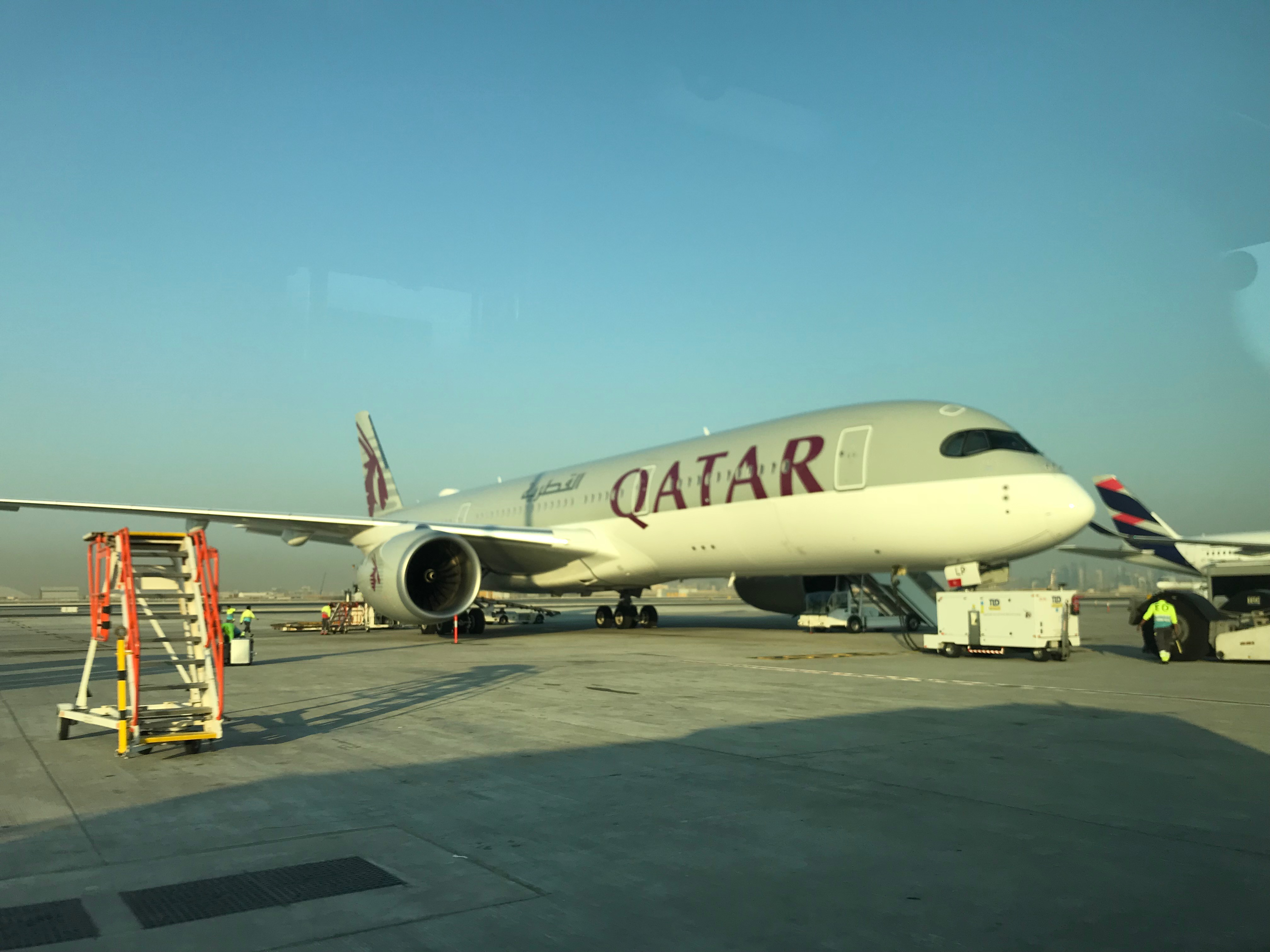 Review: Qatar Airways A350-900 Business Class New York JFK To Doha