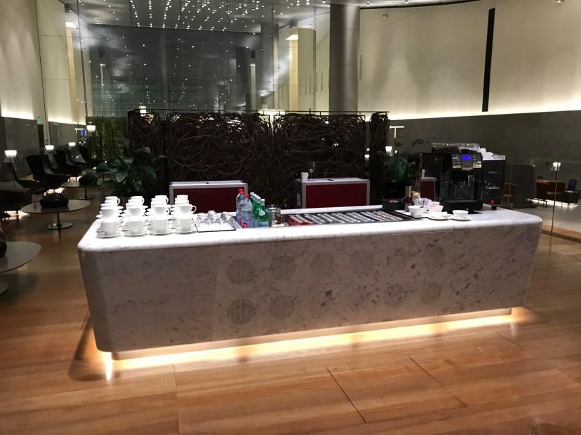 Al Mourjan Business Class Lounge Beverage Station